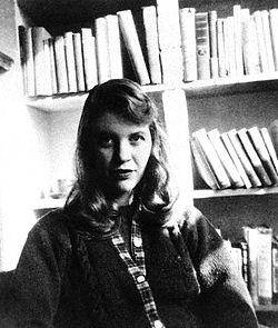 Сильвія Плат - фото