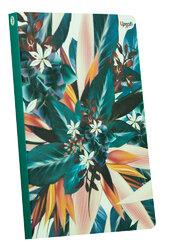 """Abstract flower"" blue B6 - фото обкладинки книги"