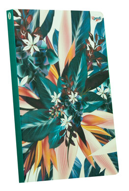 """Abstract flower"" blue B6 - фото книги"