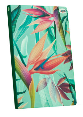 """Abstract flower"" green B6 - фото книги"