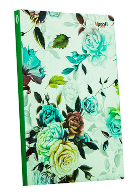 """Abstract rose"" blue, А5 - фото книги"