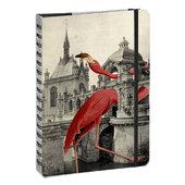 """Bohemia flamingo"", А5 - фото обкладинки книги"