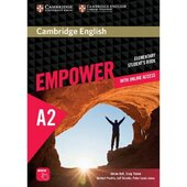 """Cambridge English Empower A2 Elementary Student's Book+Assesment+Work Book""(підручник) - фото обкладинки книги"