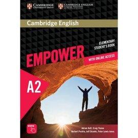 """Cambridge English Empower A2 Elementary Student's Book+Assesment+Work Book""(підручник) - фото книги"