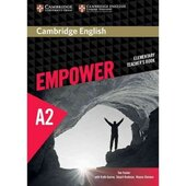 """Cambridge English Empower Elementary Teacher's Book""(робочий зошит) - фото обкладинки книги"