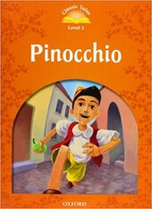 """Classic Tales 2nd Edition 5: Pinocchio with MultiROM"" - фото обкладинки книги"