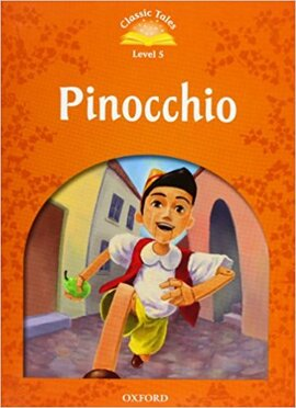"""""""Classic Tales 2nd Edition 5: Pinocchio with MultiROM"""" - фото книги"""