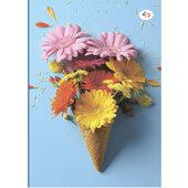 """""""Color of mood"""" blue, B6 - фото обкладинки книги"""