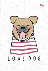 """Dog"" bulldog А5 - фото обкладинки книги"