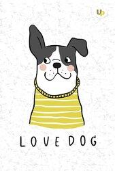 """Dog"" lady А5 - фото обкладинки книги"