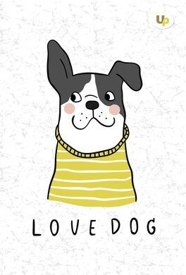 """""""Dog"""" lady А5 - фото книги"""