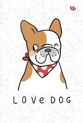 """""""Dog"""" mops А5 - фото обкладинки книги"""