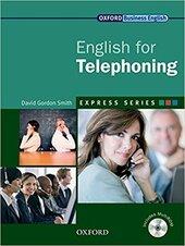 """English for Telephoning: Student's Book with MultiROM"" - фото обкладинки книги"