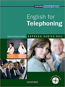 """""""English for Telephoning: Student's Book with MultiROM"""" - фото книги"""
