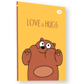 """Funny series"" brown bear, А5 - фото книги"