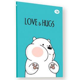 """Funny series"" white bear, А5 - фото книги"