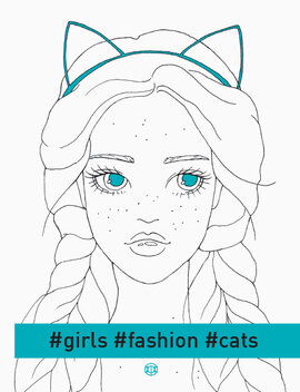 #girls#fashion#cats - фото книги