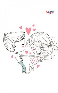 """Lovers dancing"" B6 - фото книги"