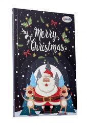 """Merry Christmas"" santa А5 - фото обкладинки книги"