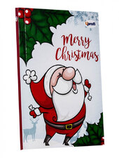 """Merry Christmas"" santa B6 - фото обкладинки книги"