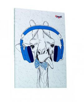 """Music note giraffe"" А5 - фото книги"