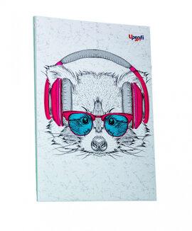 """Music note raccoon"" А5 - фото книги"