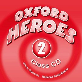 """Oxford Heroes 2: Class Audio CDs (2) (аудіодиск) - фото книги"