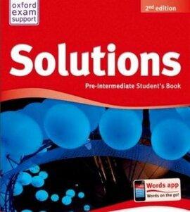 'Solutions 2nd Edition Pre-Intermediate: Student's Book (підручник) - фото книги
