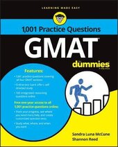 Книга 1,001 GMAT Practice Questions For Dummies