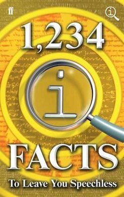 1,234 QI Facts to Leave You Speechless - фото книги