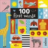 100 First Words - фото обкладинки книги