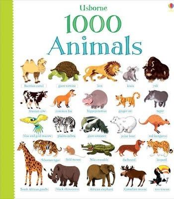 Книга 1000 Animals
