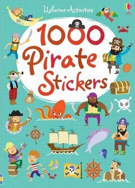 1000 Pirate. Stickers - фото книги