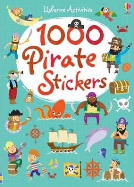 1000 Pirate. Stickers - фото книги