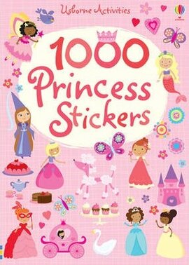 1000 Princess. Stickers - фото книги
