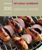 200 Barbecue Recipes - фото обкладинки книги
