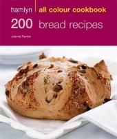 200 Bread Recipes - фото обкладинки книги