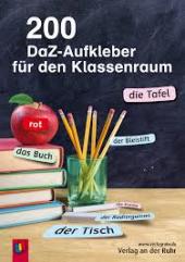 Книга для вчителя 200 DaZ-Aufkleber fr den Klassenraum