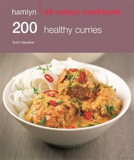 Книга 200 Healthy Curries