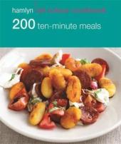 200 Ten-Minute Meals - фото обкладинки книги