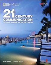 21st Century Communication 1: Listening, Speaking and Critical Thinking - фото обкладинки книги