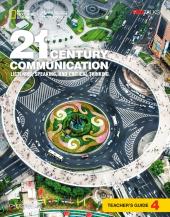 21st Century Communication 4: Listening, Speaking and Critical Thinking: Teacher's Guide - фото обкладинки книги
