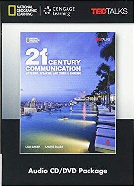 21st Century Communication: Listening, Speaking and Critical Thinking 1 Audio & Video DVD - фото книги