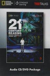 21st Century Reading 3 Audio CD / DVD Package - фото обкладинки книги