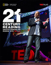21st Century Reading 4: Creative Thinking and Reading with TED Talks - фото обкладинки книги