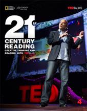21st Century Reading 4: Creative Thinking and Reading with TED Talks - фото обкладинки книги