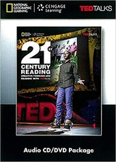 21st Century Reading with TED Talks Level 1 Audio CD & DVD Package - фото обкладинки книги