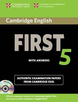 Cambridge English First 5 Self-study Pack (Student's Book with Answers and Audio CDs (2)): Authentic Examination Papers from Cambridge ESOL - фото книги