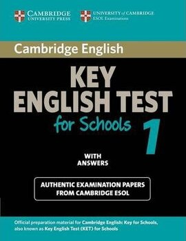 Cambridge KET for Schools 1 Student's Book with Answers. Official Examination Papers from University of Cambridge ESOL Examinations - фото книги