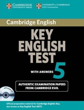 Cambridge Key English Test 5 Student's Book with answers+CD. Official Examination Papers from University of Cambridge ESOL Examinations - фото книги